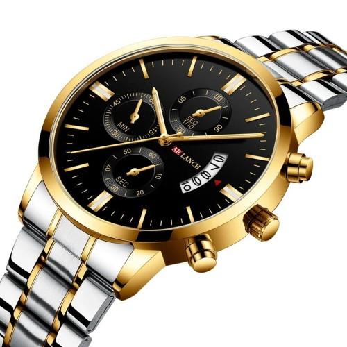 Waterproof Calendar Quartz Watch Business Casual Watch