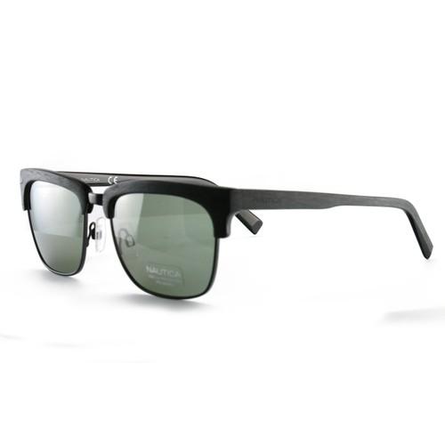 Nautica Men's Sunglasses N6219S 005 Matte Black 55 19 140 Polarized