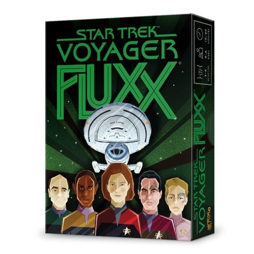 Star Trek Voyager Fluxx Card Game