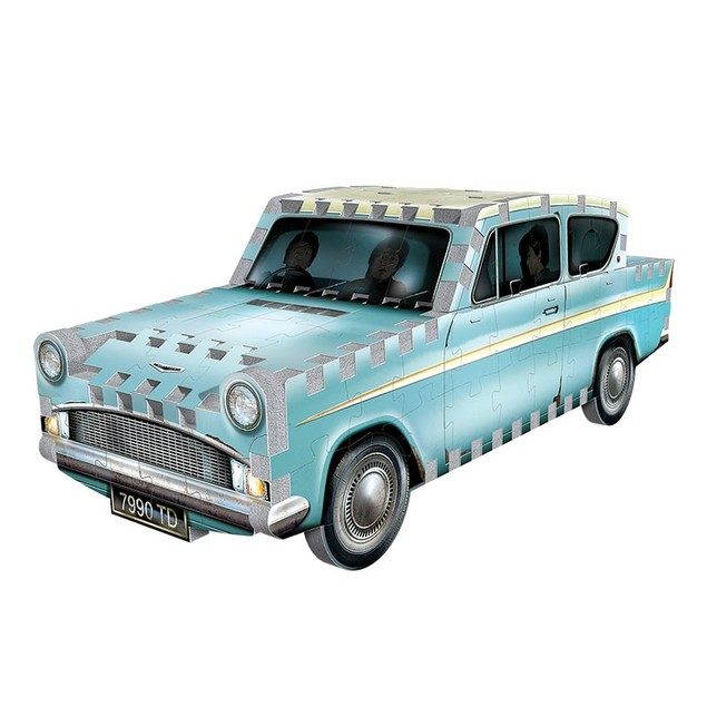 Wrebbit 3D Harry Potter Flying Ford Anglia Jigsaw Puzzle - 130 Pieces