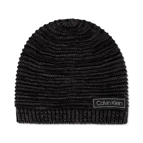 Calvin Klein Men's Marled Beanie Black Size Regular