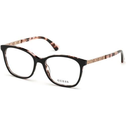 Guess Women Eyeglasses GU2743V 005 Black 53 16 140 Frames Square