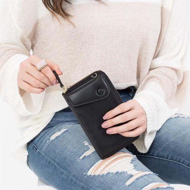 Cross Body Convertible Wallet