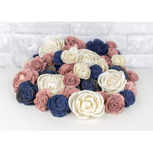 Sola Wood Flowers Love Song Assortment 25/50 Pack