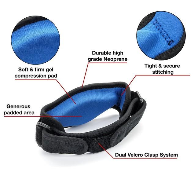 2PCS Tennis Elbow Brace Compression Sleeve for Women Men Tendonitis Arm Band Pain Relief