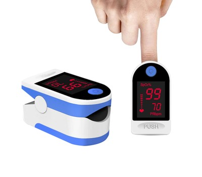 Finger Pulse Oximeter with Large OLED Display Was: $79.99 Now: $23.99.