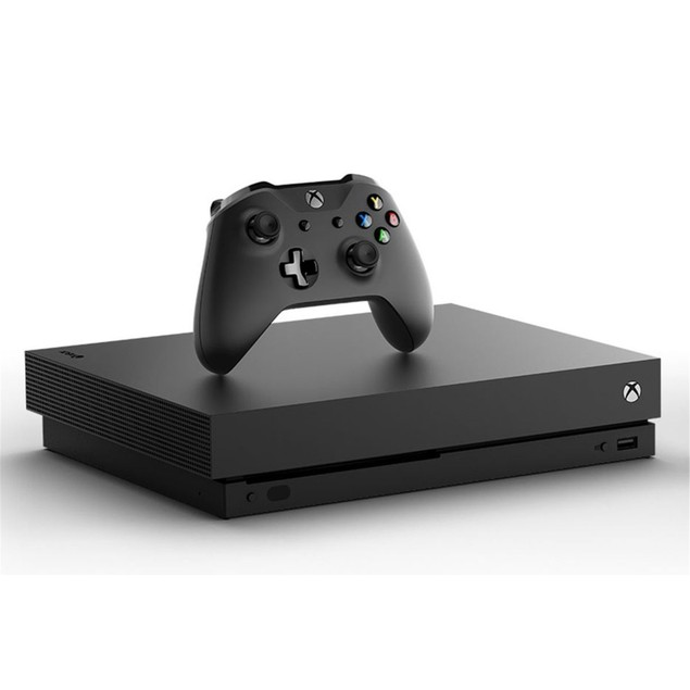 Microsoft Xbox One X 1TB Gaming Console, Black (Scratch and Dent)