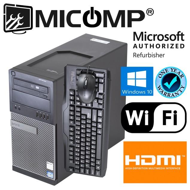 Dell 790 Tower Intel i5 8GB 2TB HDD Windows 10 Home