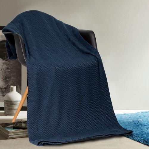 Home Maison 100% Cotton Super-Soft Throw Blanket