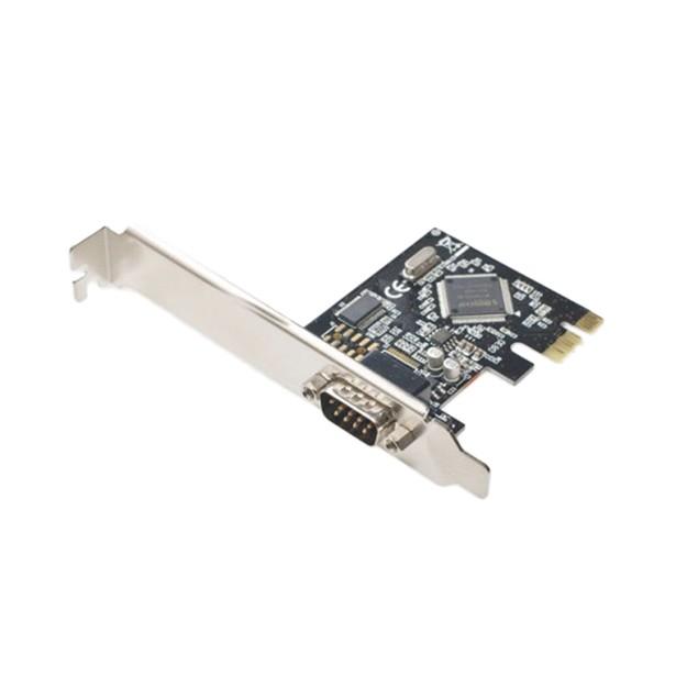 Single Port DB9 Serial PCI-e 1.0 x1 Card