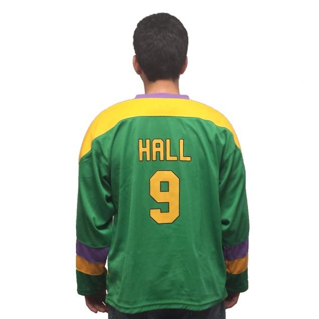 Jesse Hall #9 Ducks Hockey Jersey
