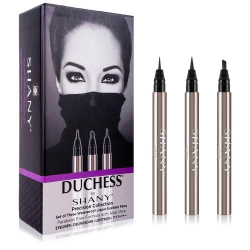 SHANY Set of 3 Black Waterproof Liquid Eyeliners
