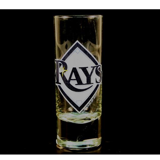 "Tampa Bay Rays MLB ""Hype"" Tall Shot Glass"