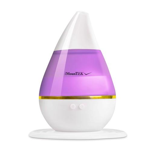250ml Cool Mist Humidifier Ultrasonic Aroma Essential Oil Diffuser