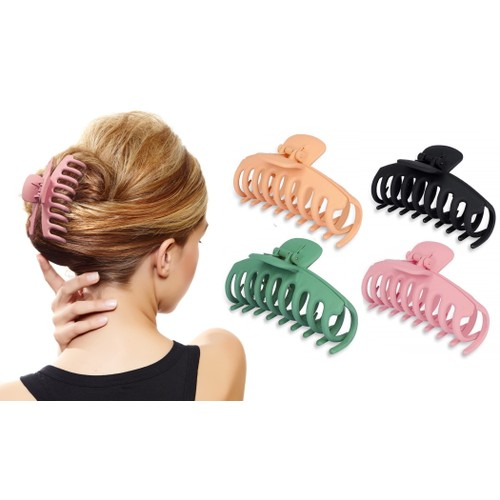 4-Pack: Women's Non-Slip Large Claw Hair Clips
