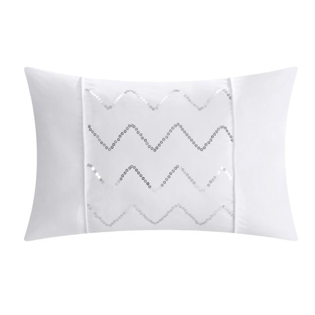 Chic Home 10 Piece Sabrina Pinch Pleated Comforter Set