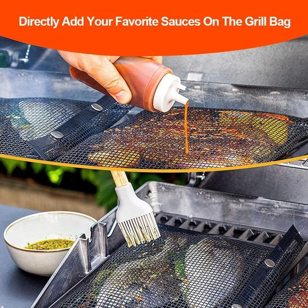 Mesh Grilling Bag