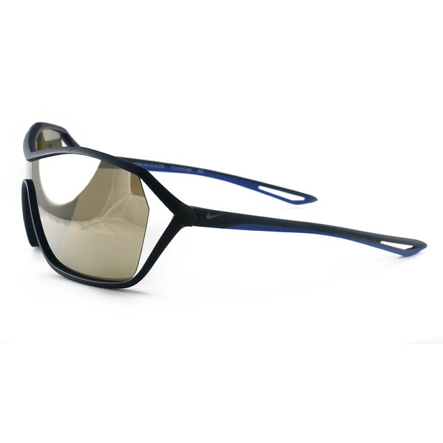 Nike Helix Elite Men's Sunglasses EV1037 402 Blue One Size Brown Mirror