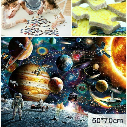 1000 Piece Jigsaw Puzzle Planets in Space Jigsaw Puzzle