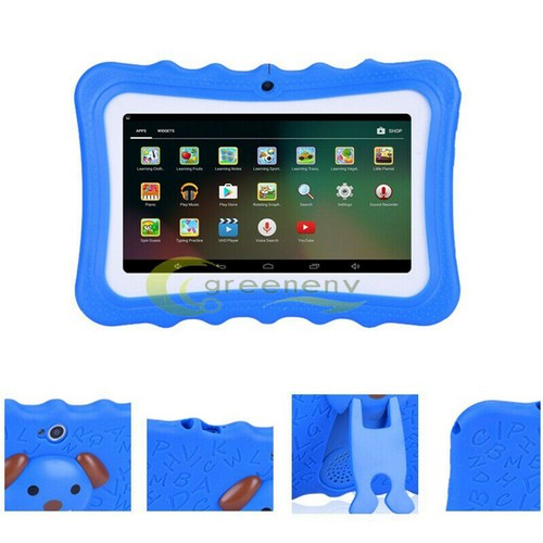 """Kids 7"""" Tablet PC 8GB Android Wifi Quad Core Educational Appst Gift Bl"""