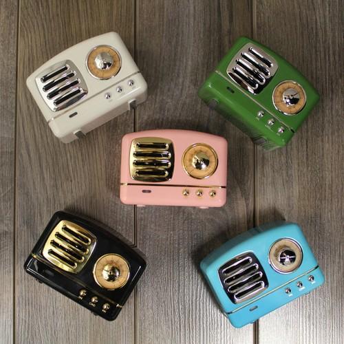 Retro Wireless Bluetooth Speaker - 5 Colors