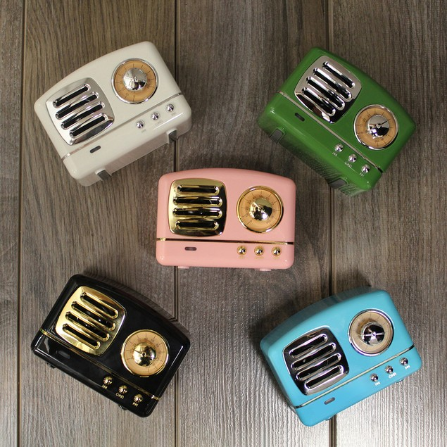 Retro Wireless Bluetooth Speaker - 5 Colors