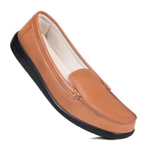 AEROSOFT Normsic Women's Casual Summer Loafers Outdoor Flats