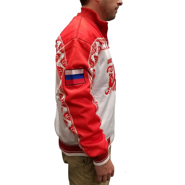 Victor Nikiforov Russia White And Red Jacket
