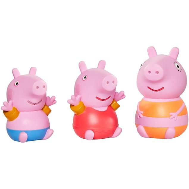 Mummy Pig and Peppa and George (Peppa Pig) Bath Squirters