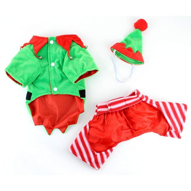 Midlee Dog Elf Costume