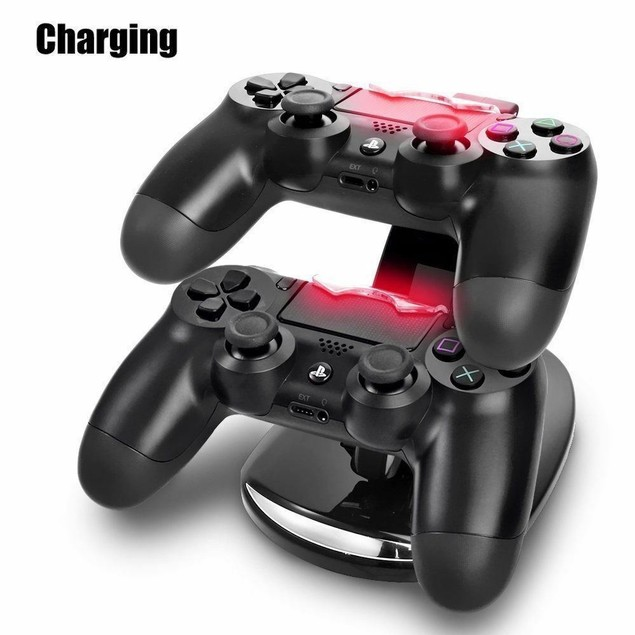 Charging Station Dock Stand for PS4 Controller - Dualshock USB Port Charger