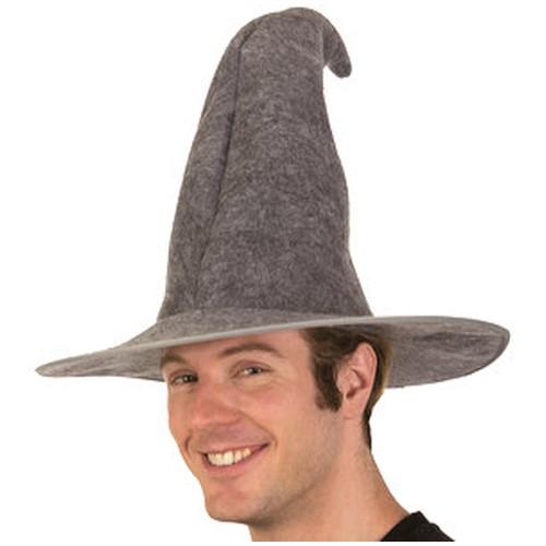 Gray Felt Gandalf Wizard Hat