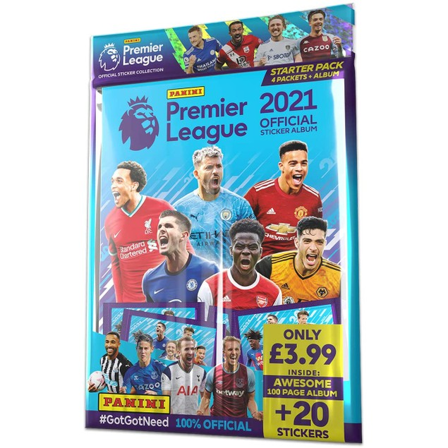 Panini's 2021 Premier League Sticker Starter Pack