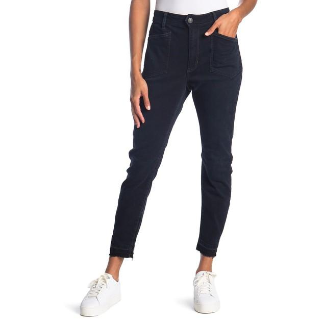 Free People Women's Ivy Skinny Jeans Blue Size 24