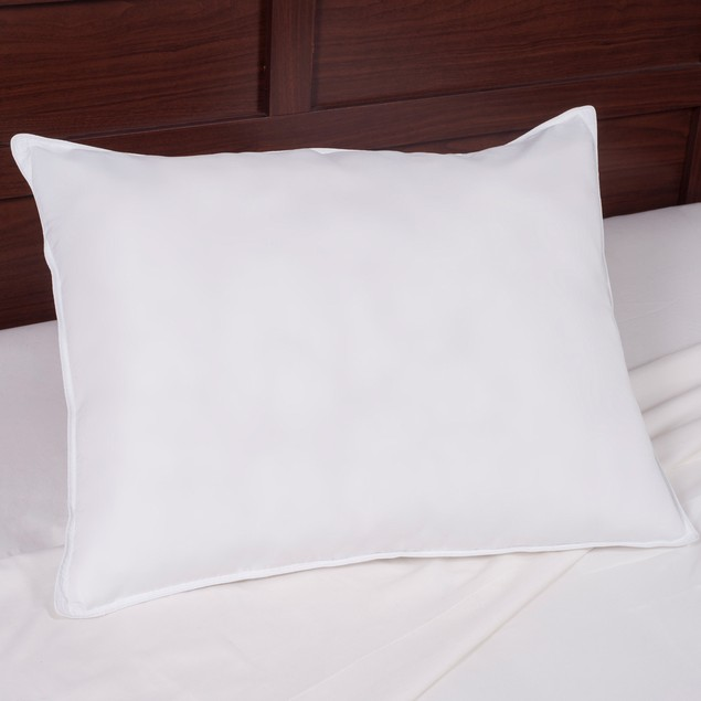 Down & White Duck Feather Pillow for Sleeping-100% Cotton Cover