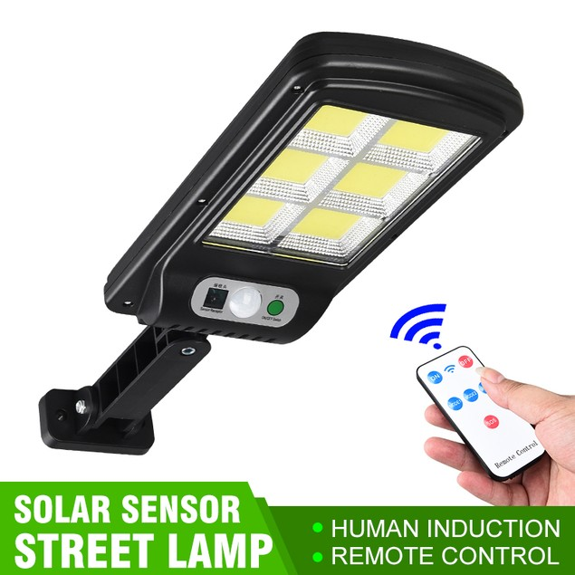 120 COB Outdoor Solar Light with Remote