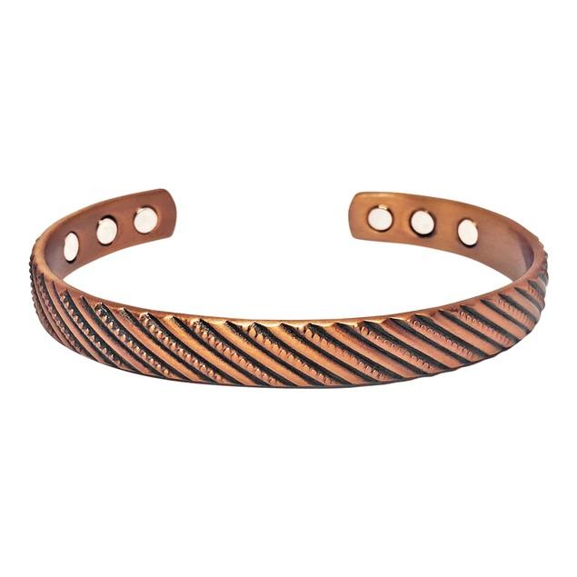 Pure Copper Magnetic Bracelet For Pain Relief-Fancy-Unisex