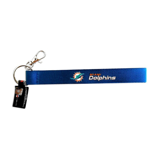 Cleanlapsports Miami Dolphins Wristlet