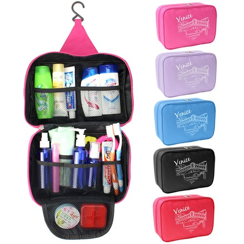 Large-Capacity Outdoor Hanging Travel Toiletry Bag