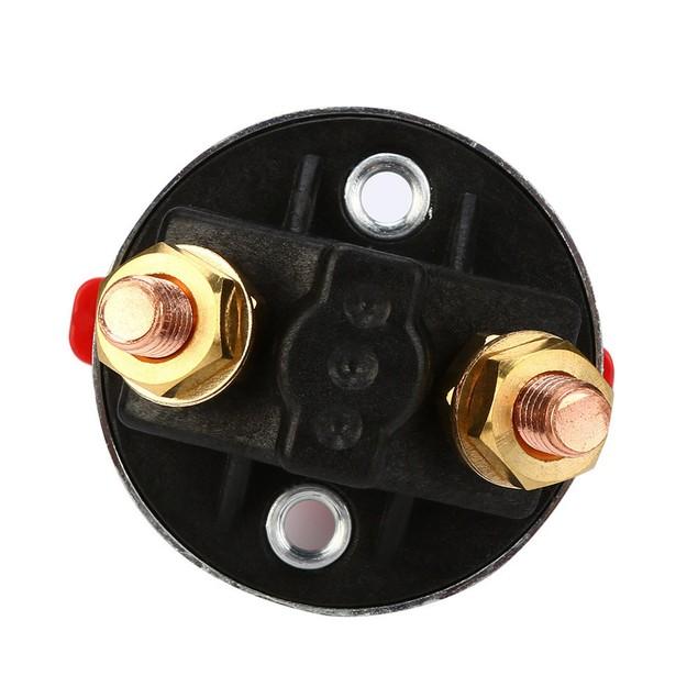 Heavy Duty Fixed Key Battery Isolator Switch (300A)@1