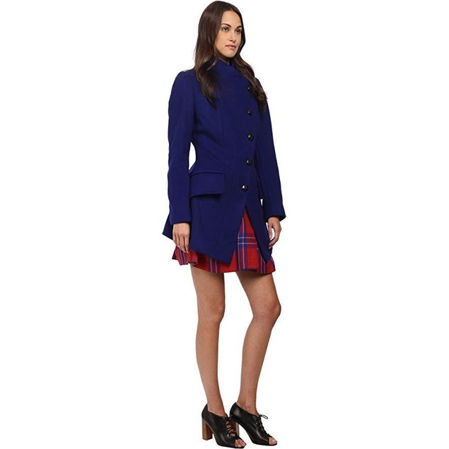 Vivienne Westwood Women's State Coat Royal Blue 44 (US 8)