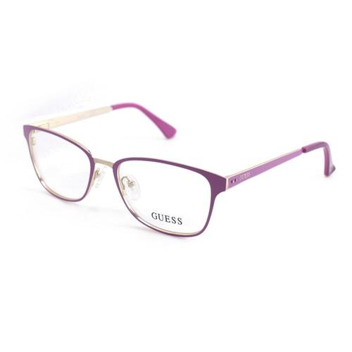 Guess Women  GU 2550 076 Purple 52 17 135 Full Rim Square