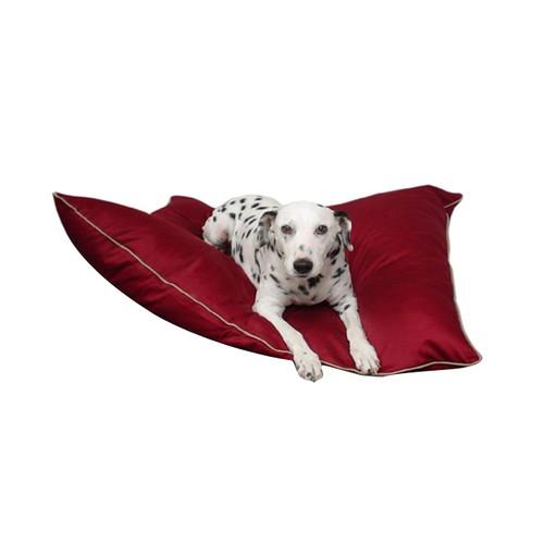 Majestic Pet Product 35x46 Inch large Super Value Burgundy Pet Dog Bed