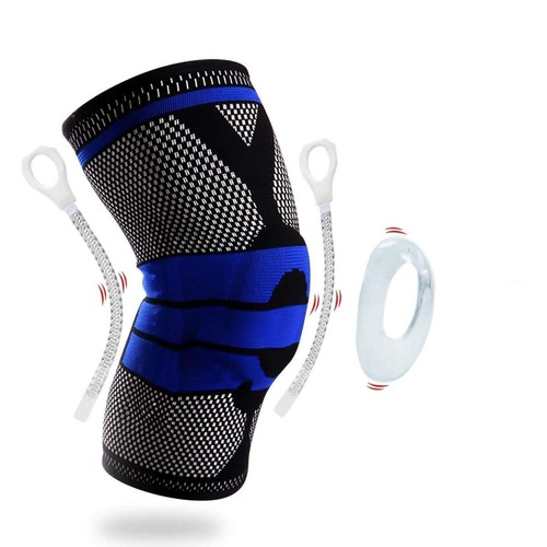 DCF Unisex Knee Sleeve with Gel Padding and Frame (1-Piece)