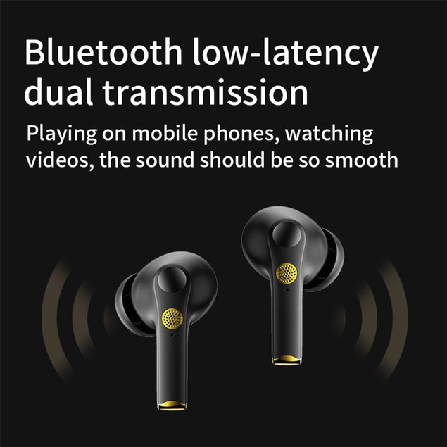 Wireless Earbuds Active Noise Cancelling in-Ear Bluetooth 5.0 Earphones
