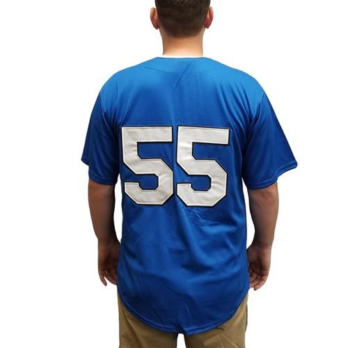 Kenny Powers #55 Myrtle Beach Mermen Baseball Jersey