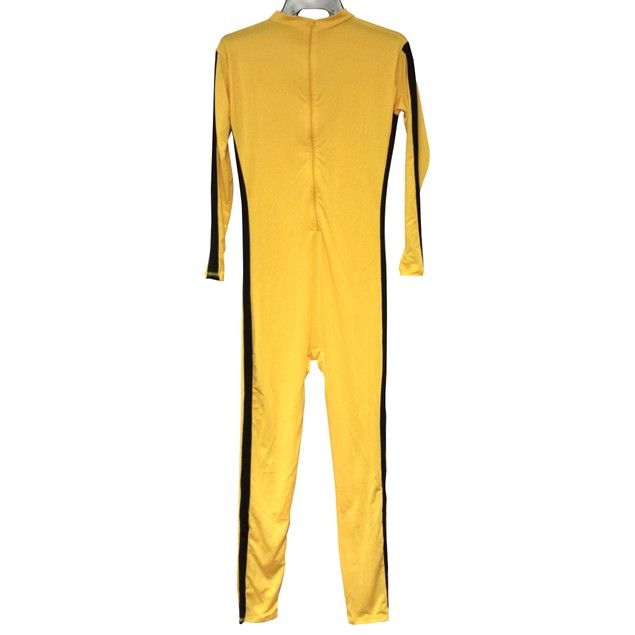 The Bride Yellow With Black Stripe Adult Costume (No Patches)