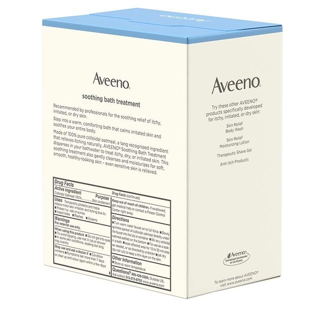 Aveeno 100% Natural Soothing Colloidal Oatmeal Bath Treatment Soap, 1.5 Oz