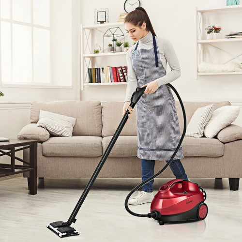 Costway 2000W Heavy Duty Steam Cleaner with 19 Accessories