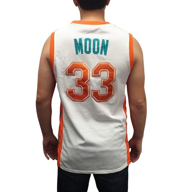 Jackie Moon #33 Flint Tropics White Basketball Jersey